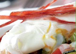 Chanfaina con huevo escalfado - destacado