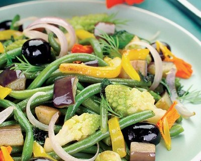 Guarnición de verduras a la italiano