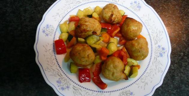 Actifry recetas rapidas saludables actifry 365 - Albondigas de verdura ...